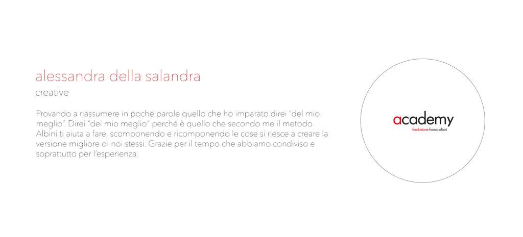Alessandra della Salandra